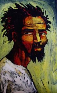 Retrato de Hombre negro