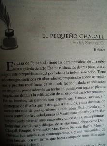El pequeño Chagall...